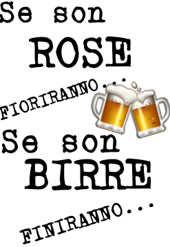 Roses Vs Beer Realizzata Da Fiore98 Felpe Economiche Su Teeser