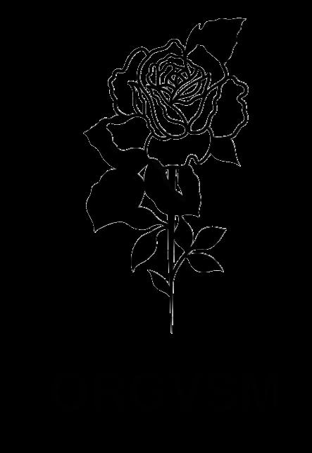 Image of OVERSIZE ORGVSM BLACK HOODIE